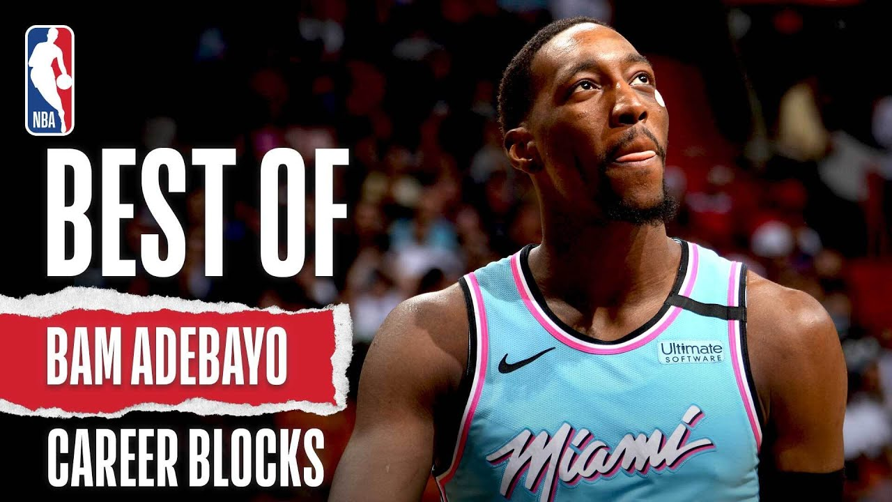 Best Of Bam Adebayo Blocks