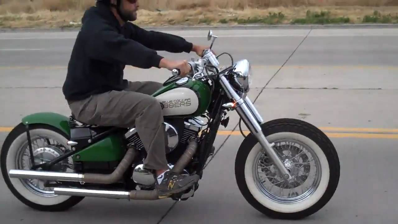 kawasaki vulcan 800 bolt on bobber kit ride youtube. Black Bedroom Furniture Sets. Home Design Ideas