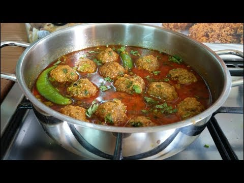Kofta curry recipe | restaurant-style mutton kofta curry's | koftay ka salan by (COOKING WITH ASIFA)