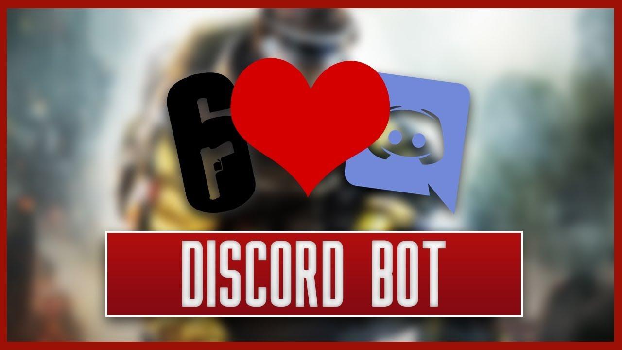 Der Rainbow Six: Siege Discord Bot! [Deutsch/German]