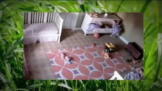Cômoda cai em cima de bebês gêmeos, e irmão em atitude heróica salva irmão.
