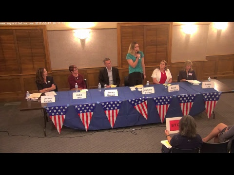 Kaysville Meet The Candidate Night 10/17/2017