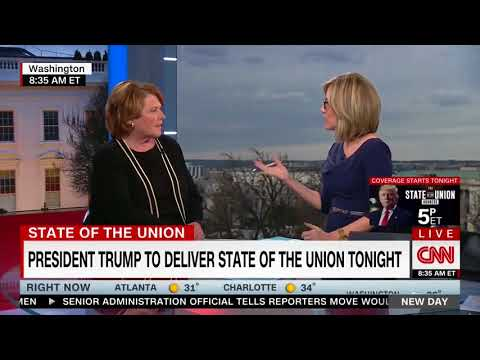 CNN: Heitkamp Joins New Day Prior to the State of the Union Address