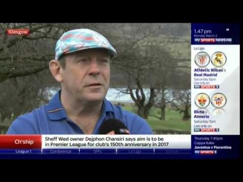 Somers Quits As Rangers Chairman  - Andy Goram Interview