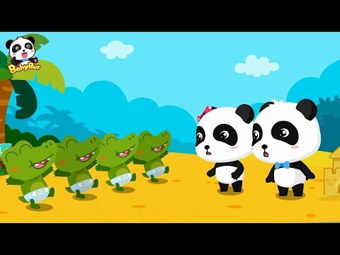 Download Youtube: Cute Baby Crocodile Care | Baby Panda Babysitting | Learn Animals | BabyBus