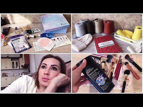 👌🏼Где покупаю ПРЯЖУ? || ITALYYARN || ПОЛЕЗНЫЙ влог | Работа мужа |Royal Samples коробочка красоты