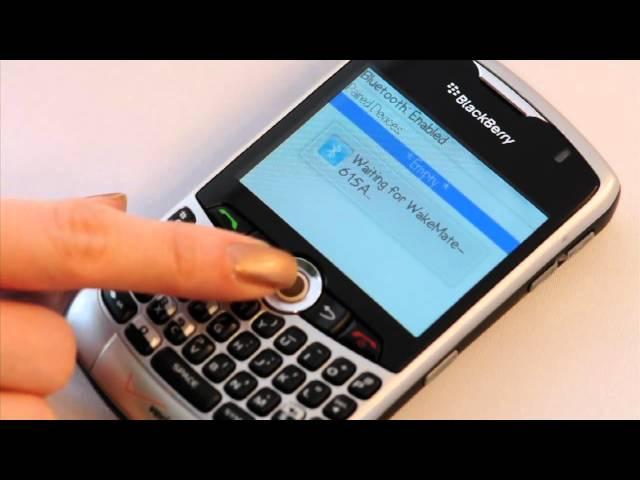 Blackberry - Pairing