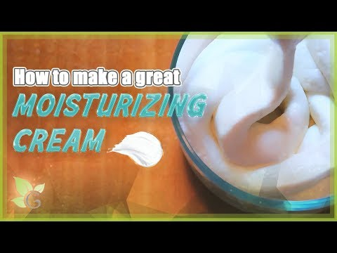 How To Make A Moisturizing Cream | NATURAL HAIR