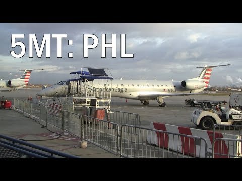 Philadelphia International Airport - A Five-Minute Tour