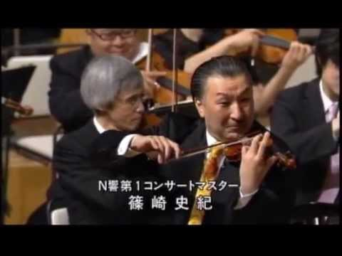 モンティ作曲「チャールダーシュ」篠崎史紀バイオリンソロ mini violin solo csárdás