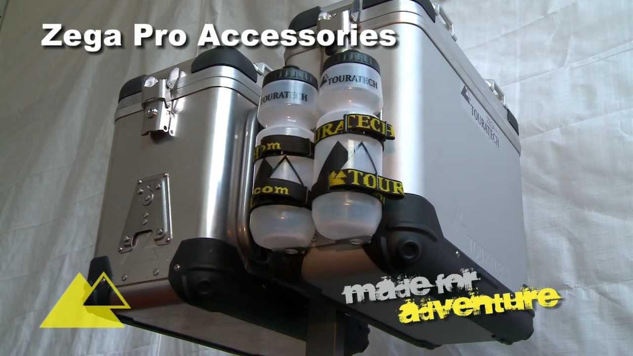 Touratech aluminium veskesystemer, Zega Case, Zega Pro