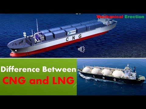 Difference Between CNG and LNG
