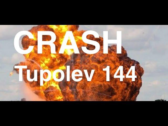 Mes Photographies Crash du Tupolev 144
