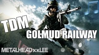 TDM on Golmud Railway  - Battlefield 4 (PC Gameplay with music)