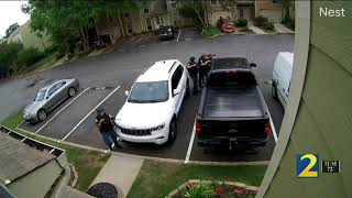 New video shows moments before shootout that left suspect dead, police officer injured