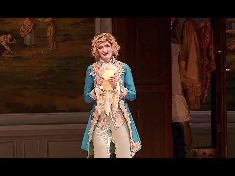"""Marianne Crébassa✬♫ """"Voi che sapete che cosa è amor""""/Le nozze di Figaro"""