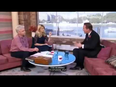 2012 Wipe - This Morning Philip Schofield David Cameron