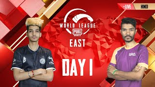 [HINDI] PMWL EAST - Opening Weekend | Day 1 | PUBG MOBILE World League Season Zero (2020)