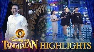 Tawag ng Tanghalan: Vice, Mariel and Vhong teach McCoy how to bang the gong
