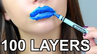 100 LAYERS OF CRAYOLA!