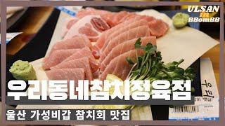 울산 참치회 맛집 / #우리동네참치정육점 신정동, 비싼…