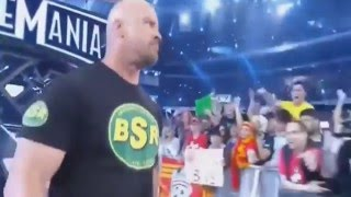 STONE COLD best surprise ENTRANCE EVER!!!!