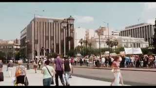 ГРЕЦИЯ: Афины: демонстранты тормозят движение... GREECE(, 2012-10-04T14:31:50.000Z)
