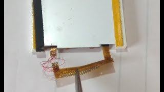 ANY Boken Dispaly problem solution ..borken lcd  white lcd..easy solution