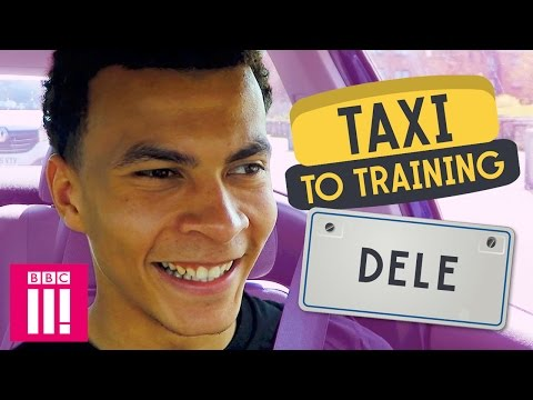 Tottenham Hotspur's Dele Alli | Taxi To Training