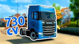 Modifiche al nuovo SCANIA - ITALIA DLC Euro Truck Simulator 2