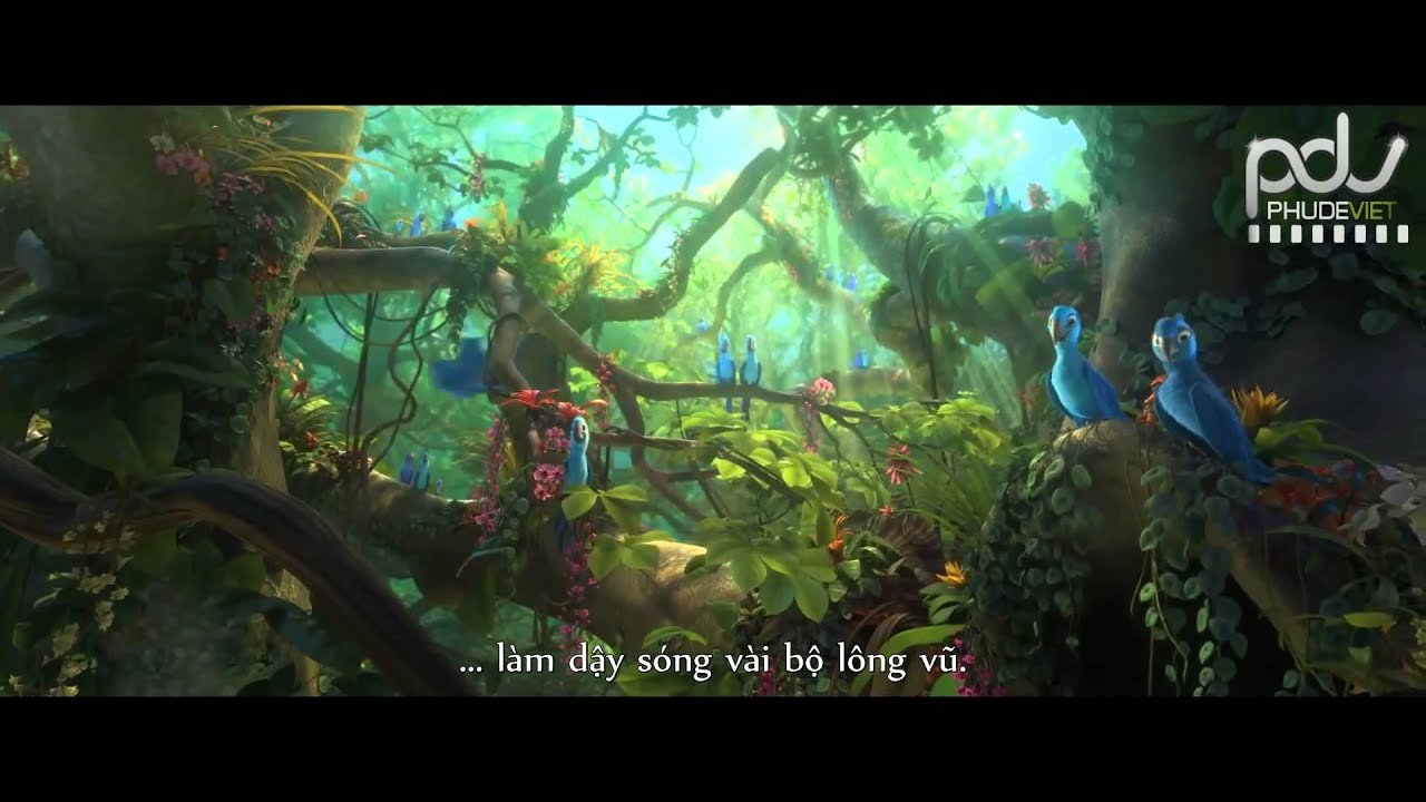 Rio 2 (Vẹt đuôi dài Rio 2) Official Trailer 2014 (Vietsub)