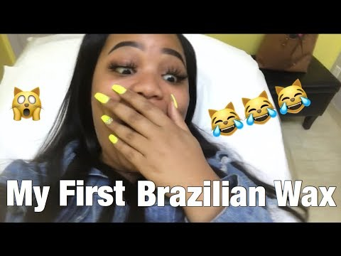 MY FIRST BRAZILIAN WAX 🤗😼 *Pre Spring Break*  REACTION  Vlog