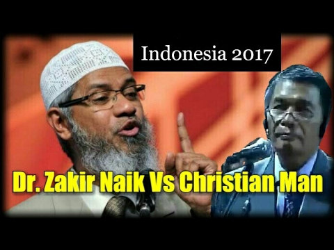 Dr. Zakir Naik Vs Christian Man || Tour to Indonesia 2017