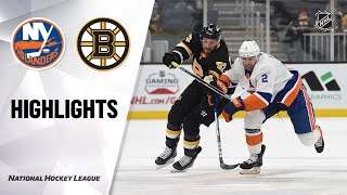 Islanders @ Bruins 4/16/21 | NHL Highlights
