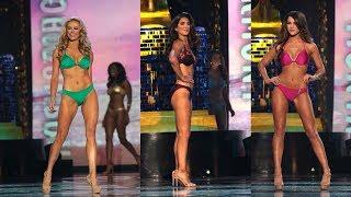 Miss America Contestants Show off Bikinis | Miss America 2018 in Swimw