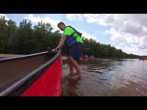 Wisconsin River Canoe Camping