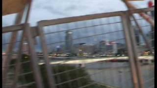 BrisneyLand.Tv Robb Ferris Wheel SouthBank Look Almost A Full Moon