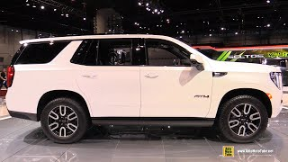 GMC Yukon AT4 2021 - Walkaround Exterior Interior Tour