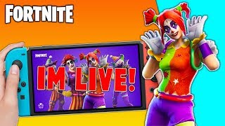 🔴 Best Fortnite Nintendo Switch Player // Give Away Today!! // Fortnite Gameplay+ Tips!!