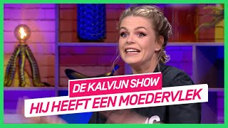 Davina Michelle krijgt steeds dezelfde micropenis in haar DM's | De Kalvijn Show #6 | NPO 3 TV