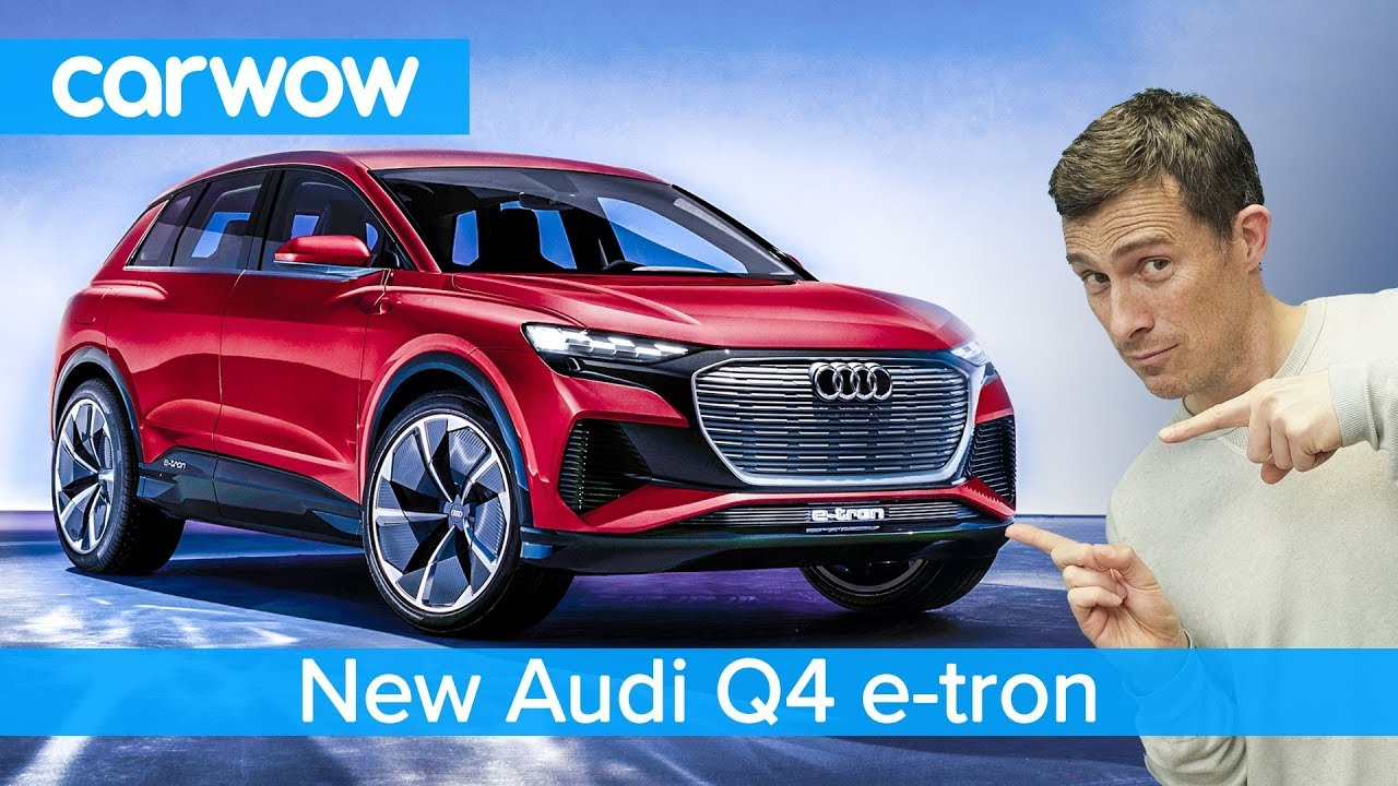 New Audi Q4 e-tron SUV 2020 - see why it's like a baby ...