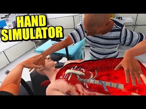 SEÑOR, SE LE HA CAÍDO EL INTESTINO - HAND SIMULATOR (Actualización) | Gameplay Español