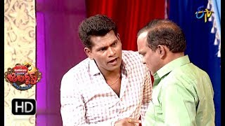 Chammak Chandra Performance |  Jabardasth | 1st November 2018 | ETV Telugu