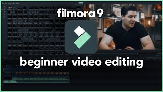 AMAZING Video Editor for Beginners (EASY TO USE!) Filmora9 Tutorial