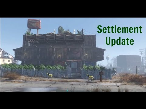 Fallout 4 | Settlement Update & Street Lights