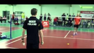 SNG Michał Kikosicki (Kadra Polski w badmintonie) - trening i turniej w Stacji Nowa Gdynia