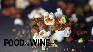 How to Make Popcorn with Sesame-Glazed Pistachios | Recipe | Food & Wine