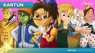 Pinokio dan 5 Cerita   Kartun Anak Anak   Dongeng Bahasa Indonesia   Cerita Anak Anak