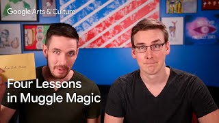 Skills for a modern wizard: 4 lessons in Muggle magic with the Super Carlin Brothers | #GoogleArts