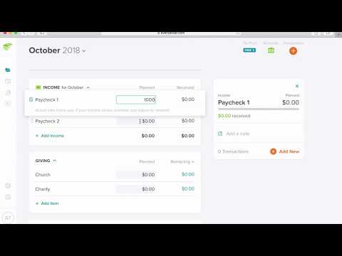 You Need a Budget (YNAB) vs EveryDollar - Alex Tran